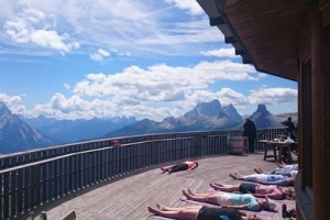 Yoga at altitude